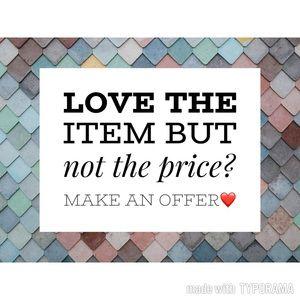 Make an offer😀😀